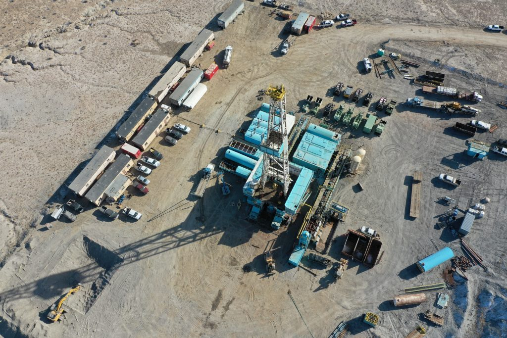 3. Rig # 34 From Above